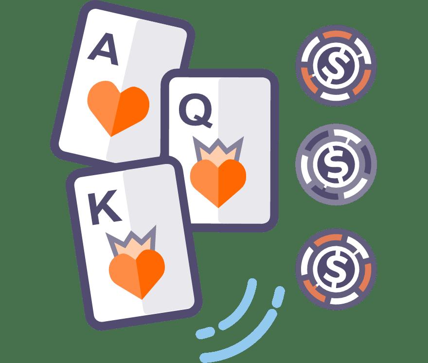 Παίξτε Πόκερ τριών φύλλων Online -Τα καλύτερα 46 με τις μεγαλύτερες πληρωμές Online Καζίνο το 2021