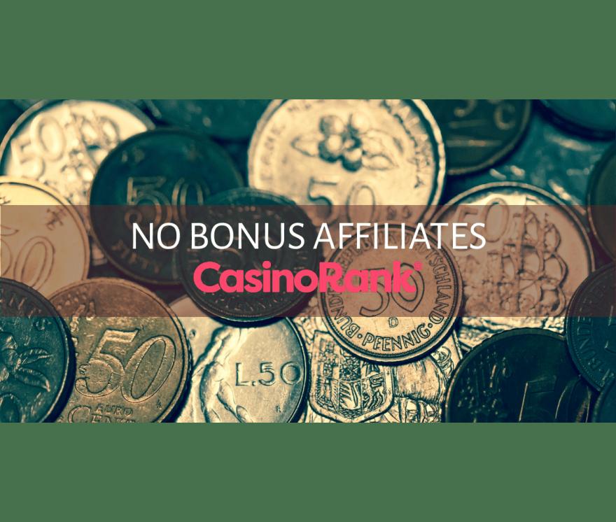Τα καλύτερα No Bonus Affiliates Online Καζίνο