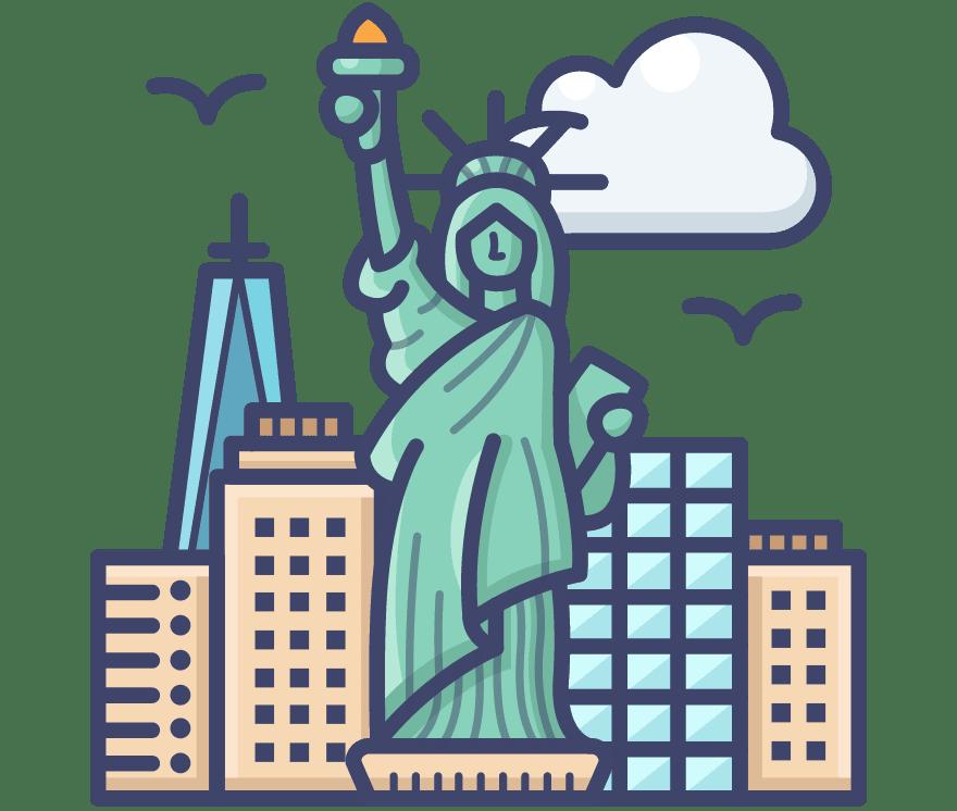 Τα καλύτερα 17 Online καζίνο στη(ο) Ηνωμένες Πολιτείες το 2021